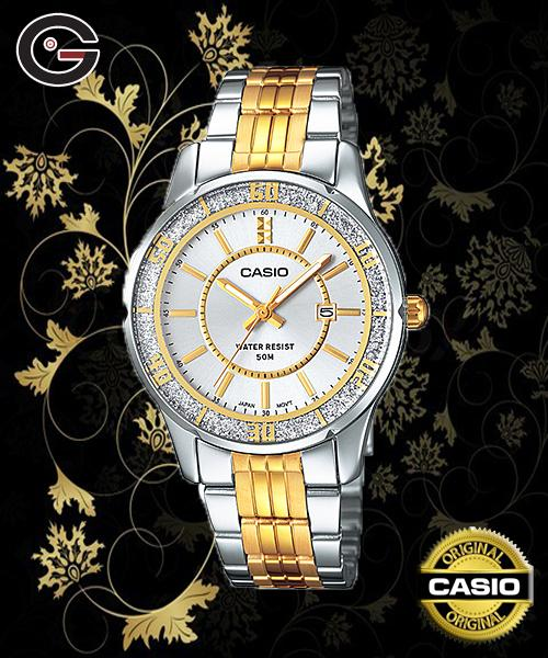 CASIO LTP-1358SG-7A / LTP-1358G LADY WATCH ☑ORIGINAL☑