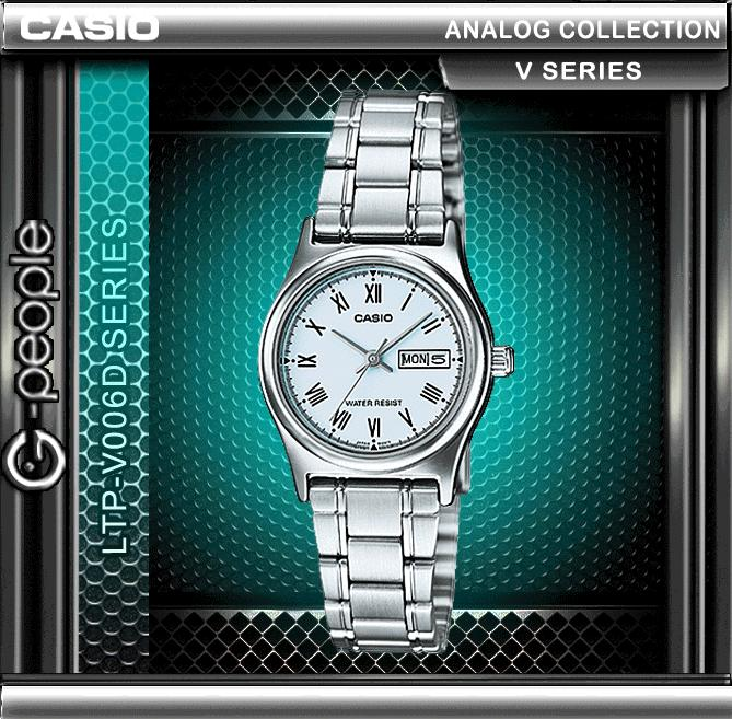 CASIO LTP-V006D-2B ANALOG LADIES WATCH ☑ORIGINAL☑