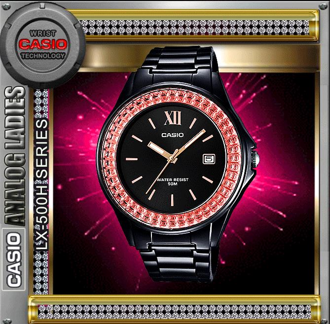 CASIO LX-500H-1E ANALOG LADIES WATCH☑ORIGINAL☑