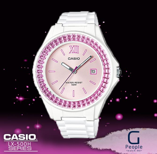 CASIO LX-500H-4E ANALOG LADIES WATCH☑ORIGINAL☑