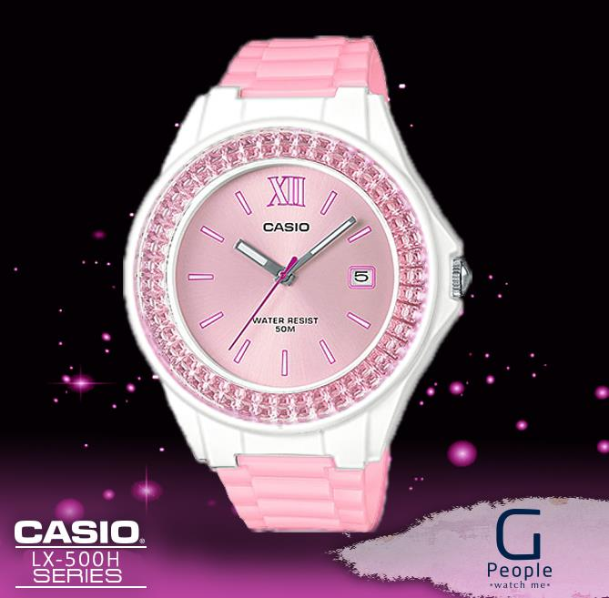 CASIO LX-500H-4E5 ANALOG LADIES WATCH☑ORIGINAL☑