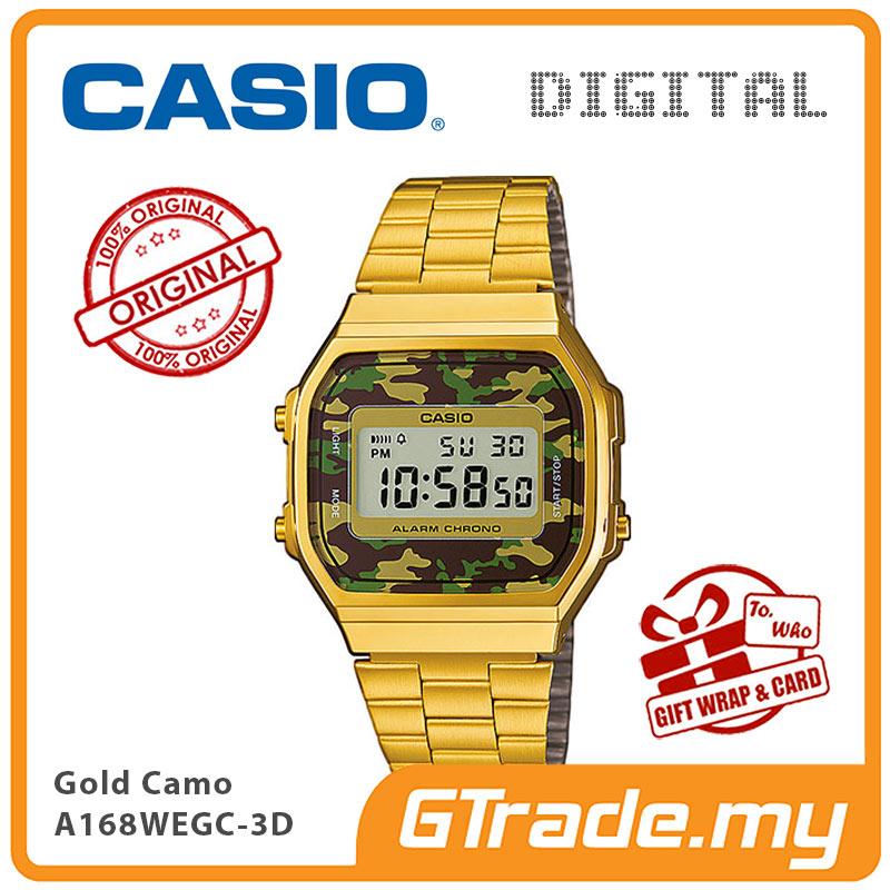 602d474fe74 CASIO Men A168WEGC-3D Digital Watch (end 7 4 2021 12 00 AM)
