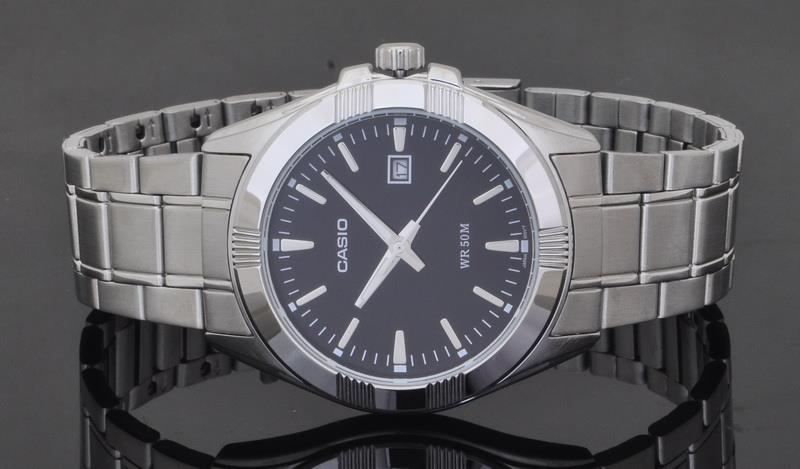 Casio Men Analog Stainless Steel Date Watch MTP-1308D-1AVDF