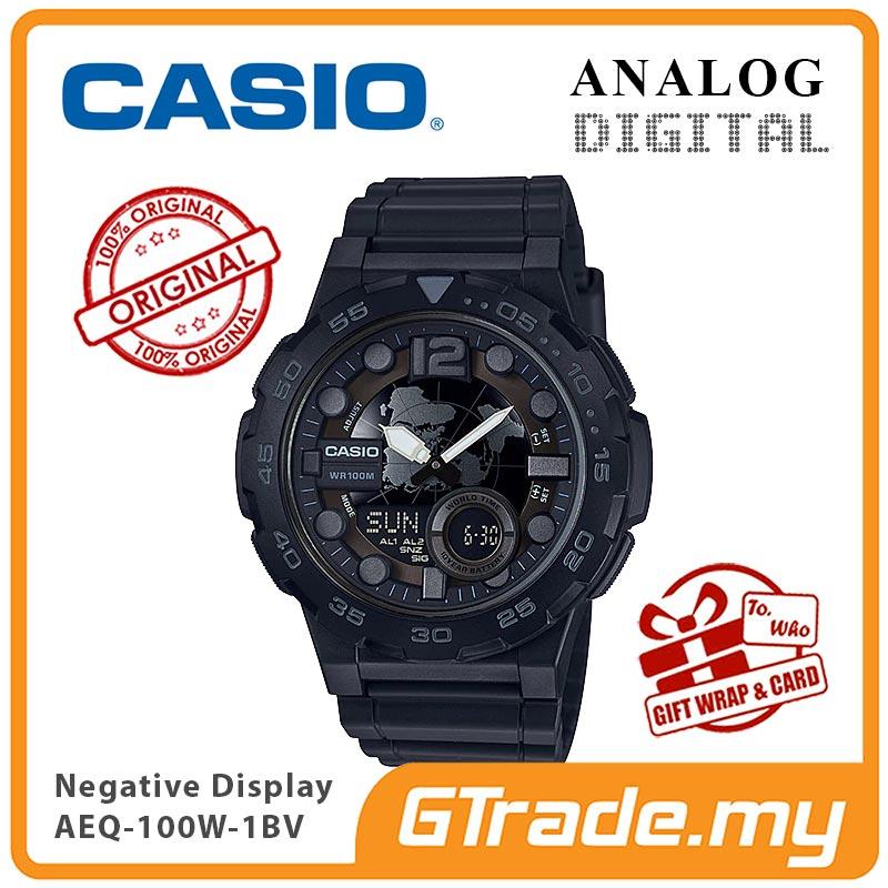 CASIO Men Sporty Watch Jam Tangan Casio Original Modern AEQ-100W-110W 80684db6fe