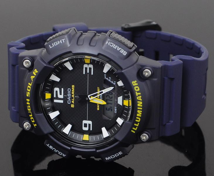 dd0c7f7a5216f Casio Men Tough Solar Rubber Watch (end 10 1 2019 12 15 PM)