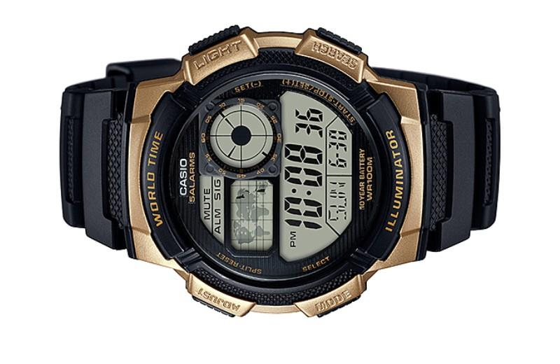 481d03603cd4 Casio Men World Time Digital Watch A (end 8 19 2020 2 15 PM)