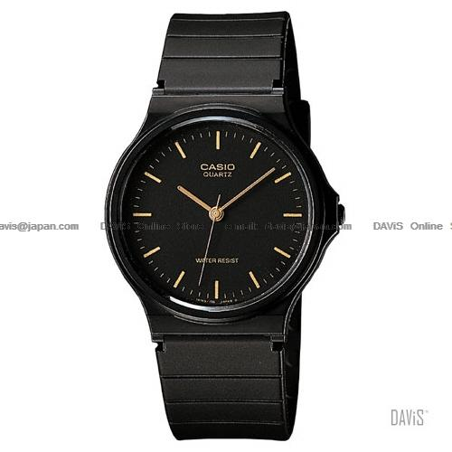 CASIO MQ-24-1E STANDARD Analog casual classic resin strap black