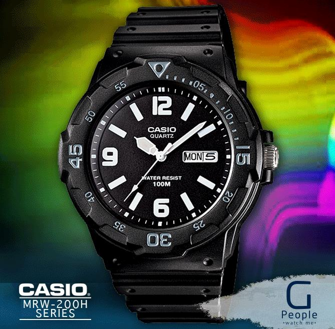 CASIO MRW-200H-1B2V WATCH ☑ORIGINAL☑