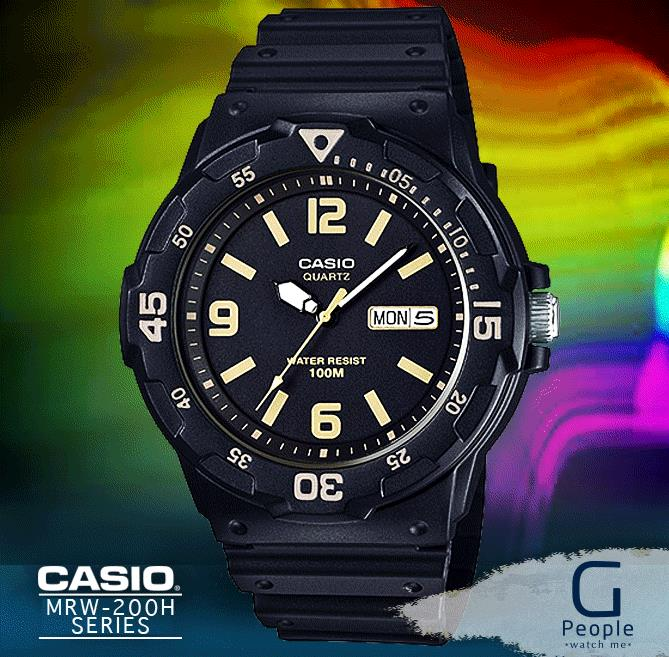 CASIO MRW-200H-1B3V WATCH ☑ORIGINAL☑