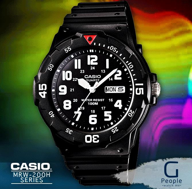 CASIO MRW-200H-1BV WATCH ☑ORIGINAL☑