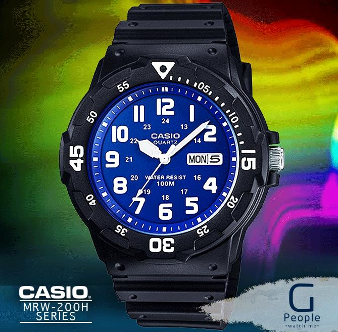 CASIO MRW-200H-2B2V WATCH ☑ORIGINAL☑