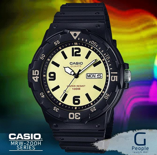 CASIO MRW-200H-5BV WATCH ☑ORIGINAL☑