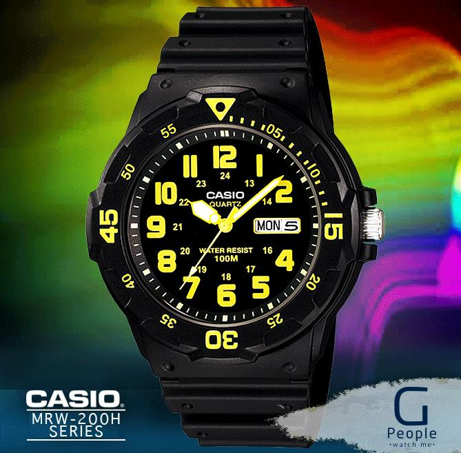 CASIO MRW-200H-9BV WATCH ☑ORIGINAL☑