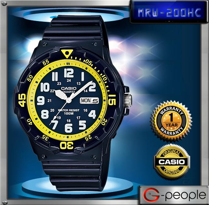 CASIO MRW-200HC-2BV 100M WATCH☑ORIGINAL☑