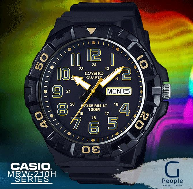 CASIO MRW-210H-1A2V / MRW-210H X LARGE 100M WR WATCH 100% ORIGINAL