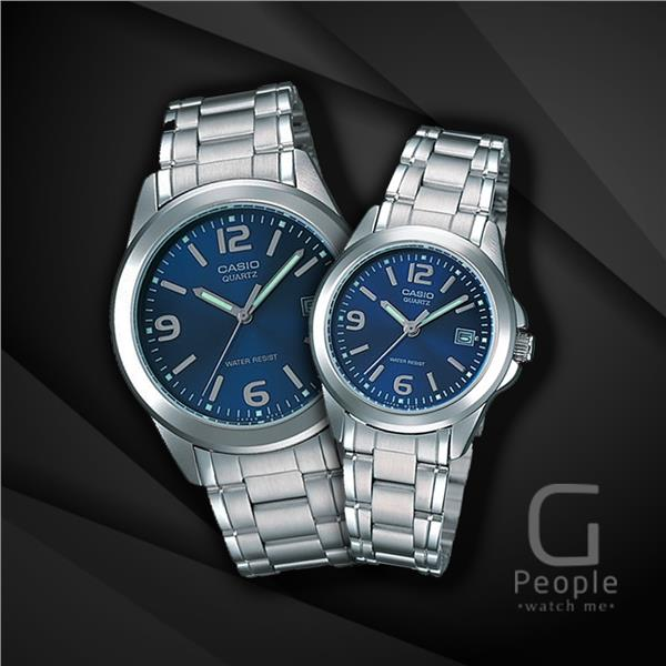 CASIO MTP-1215A-2A + LTP-1215A-2A PAIR WATCH ☑ORIGINAL☑