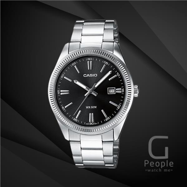 CASIO MTP-1302D-1A1V GENTS WATCH WITH DATE ☑ORIGINAL☑