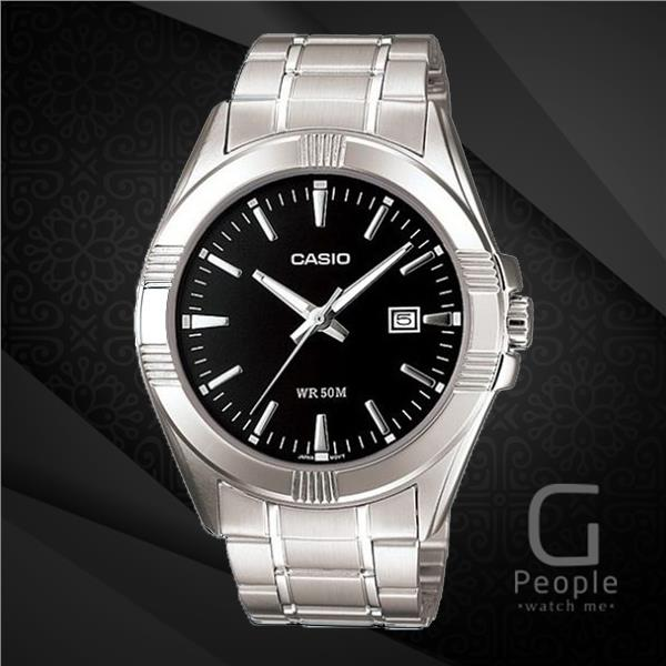 CASIO MTP-1308D-1AV GENTS WATCH WITH DATE ☑ORIGINAL☑