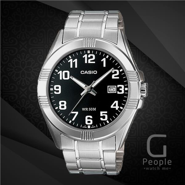 CASIO MTP-1308D-1BV GENTS WATCH WITH DATE ☑ORIGINAL☑