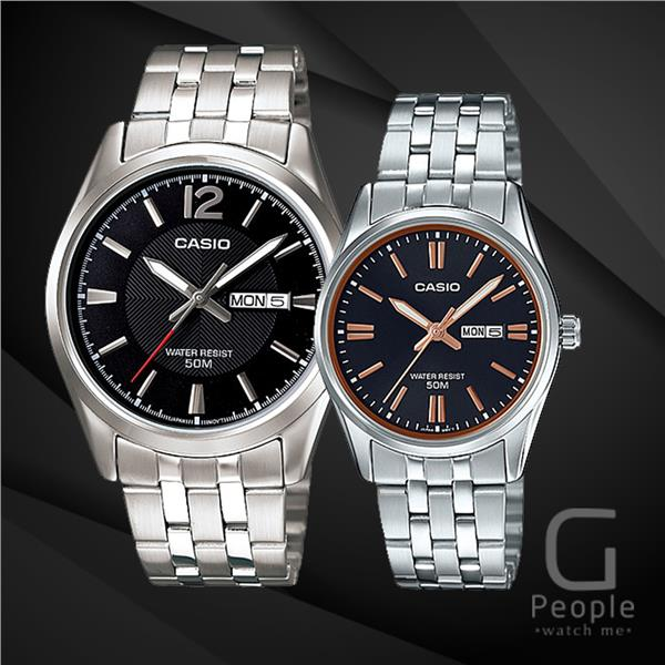 CASIO MTP-1335D-1AV + LTP-1335D-1A2V PAIR WATCH ☑ORIGINAL☑