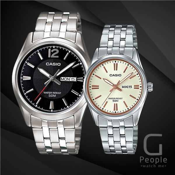 CASIO MTP-1335D-1AV + LTP-1335D-9AV PAIR WATCH ☑ORIGINAL☑