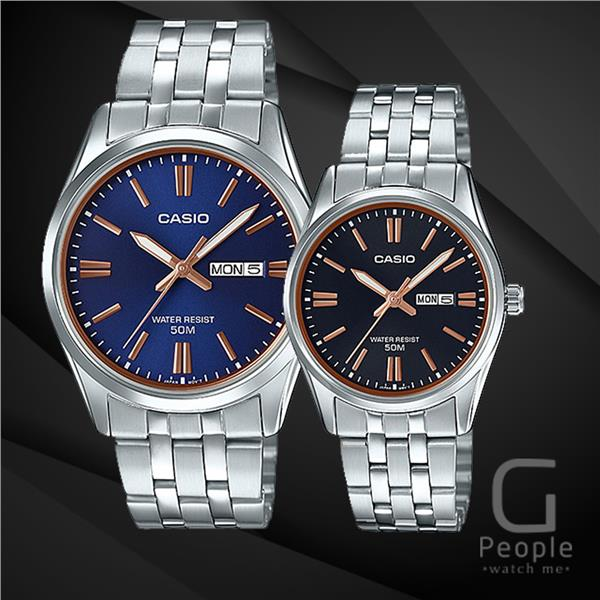 CASIO MTP-1335D-2A2V + LTP-1335D-1A2V PAIR WATCH ☑ORIGINAL&#9745