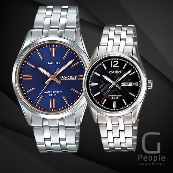 CASIO MTP-1335D-2A2V + LTP-1335D-1AV PAIR WATCH ☑ORIGINAL☑