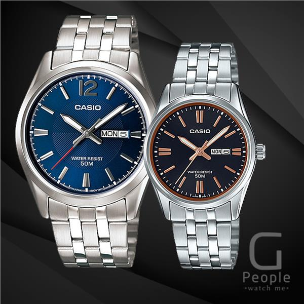 CASIO MTP-1335D-2AV + LTP-1335D-1A2V PAIR WATCH ☑ORIGINAL☑