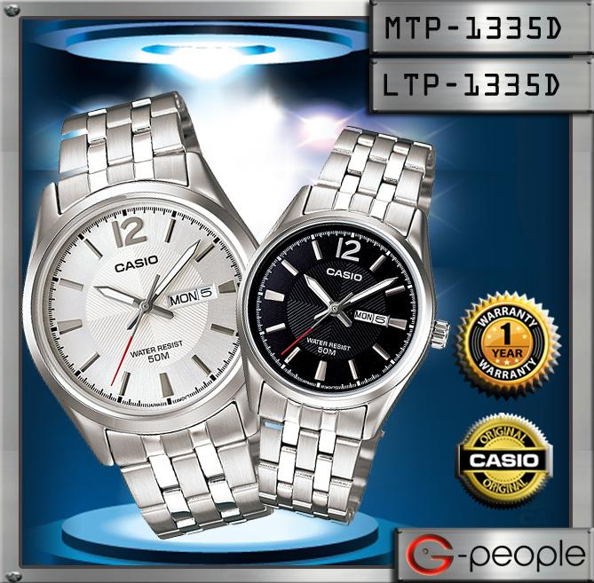 CASIO MTP-1335D-7AV + LTP-1335D-1AV PAIR WATCH☑ORIGINAL