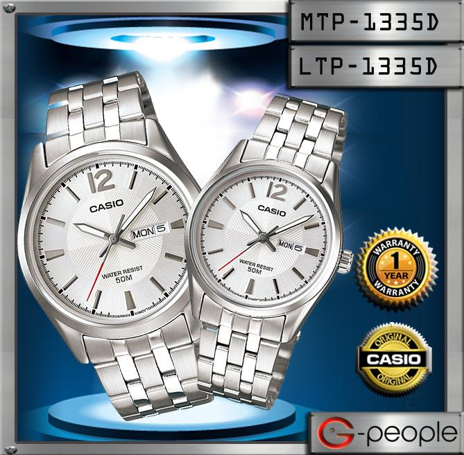 CASIO MTP-1335D-7AV + LTP-1335D-7AV PAIR WATCH☑ORIGINAL