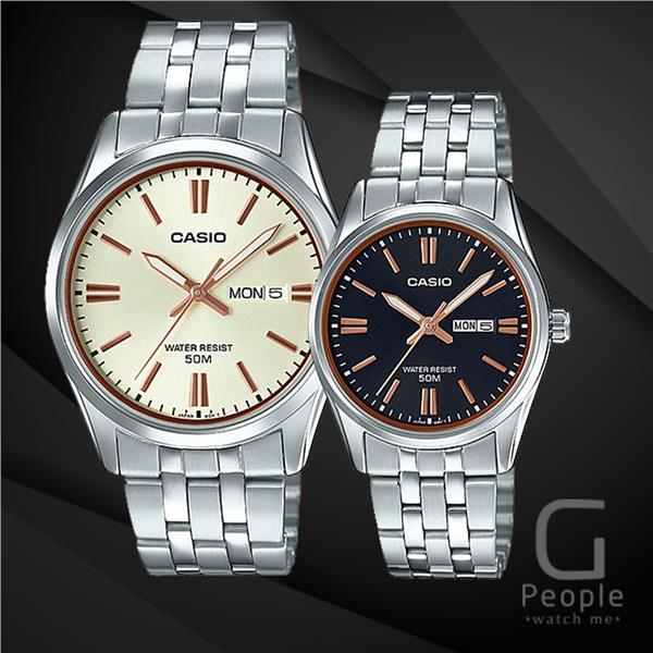 CASIO MTP-1335D-9AV + LTP-1335D-1A2V PAIR WATCH ☑ORIGINAL☑
