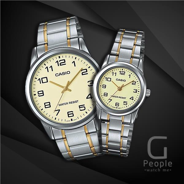 CASIO MTP-V001SG-9B + LTP-V001SG-9B PAIR WATCH ☑ORIGINAL☑