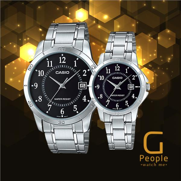CASIO MTP-V004D-1B + LTP-V004D-1B PAIR WATCH ☑ORIGINAL☑