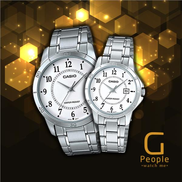 CASIO MTP-V004D-7B + LTP-V004D-7B PAIR WATCH ☑ORIGINAL☑