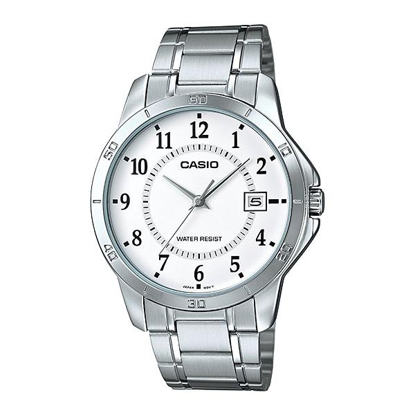 CASIO MTP-V004D-7BV Analog Mens Watch | Easy Simple