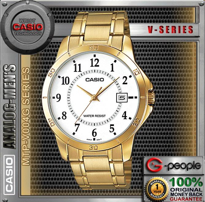 CASIO MTP-V004G-7B GENTS WITH DATE WATCH ☑ORIGINAL☑