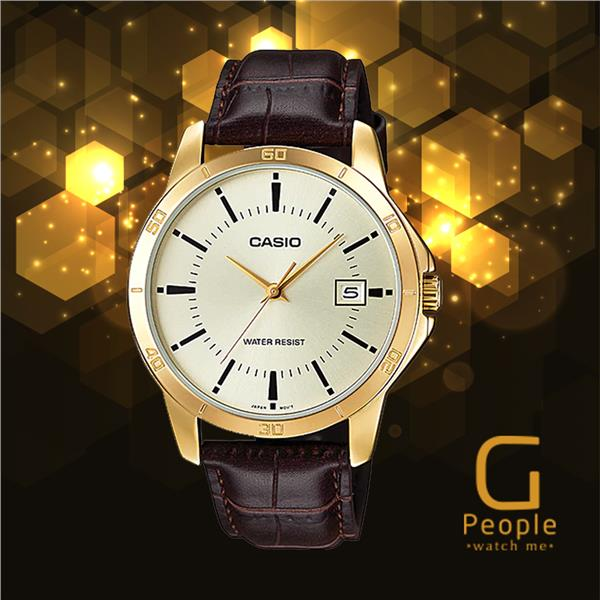 CASIO MTP-V004GL-9A GENTS WATCH ☑ORIGINAL☑