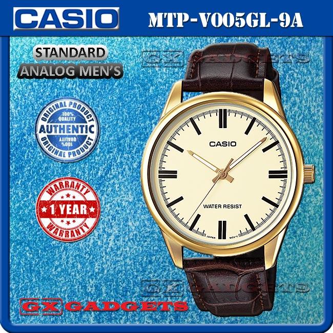 Harga Casio Standard MTP V005L 1A Jam Tangan Pria Kulit Hitam Source · CASIO MTP V005GL