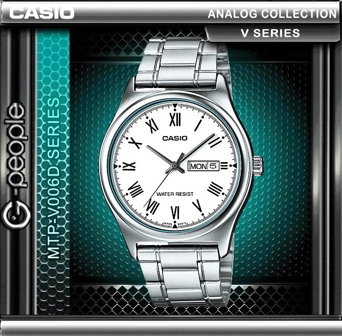 CASIO MTP-V006D-7B ANALOG MENS WATCH ☑ORIGINAL☑