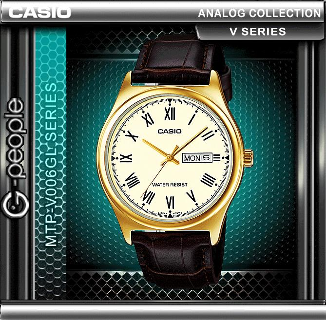CASIO MTP-V006GL-9B MEN'S WATCH ☑ORIGINAL☑