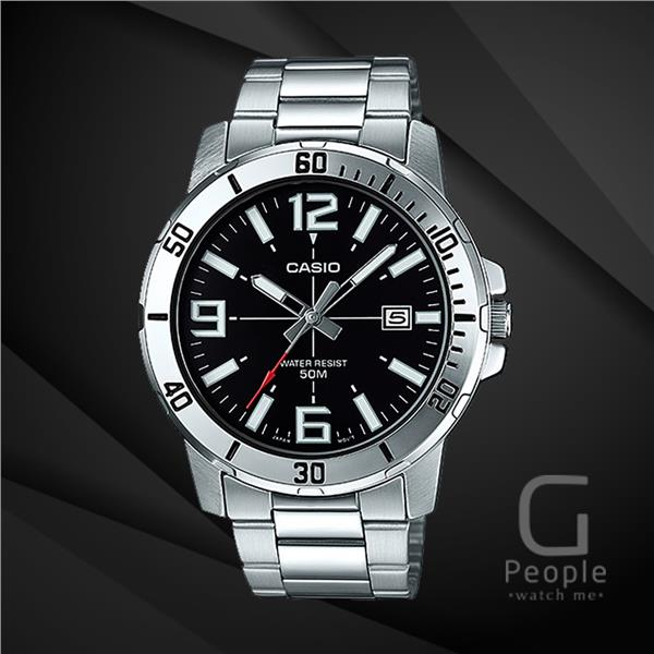 CASIO MTP-VD01D-1B ANALOG WATCH ☑ORIGINAL☑