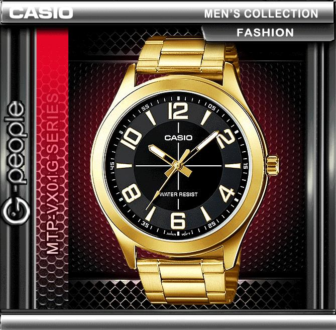 CASIO MTP-VX01G-1B X LARGE WATCH☑ORIGINAL☑