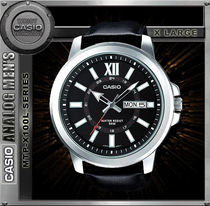 CASIO MTP-X100L-1A SPORTY BIG CASE WATCH ☑ORIGINAL☑