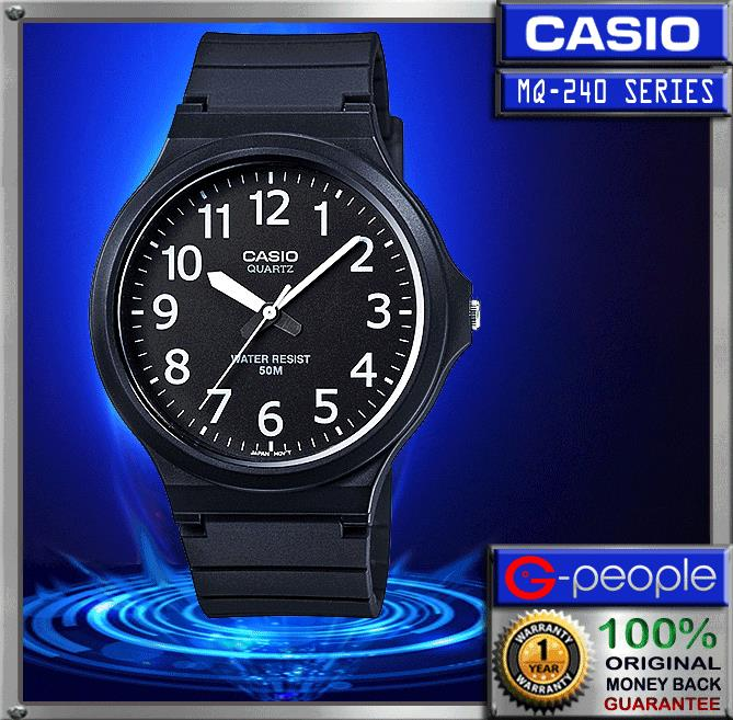 CASIO MW-240-1BV WATCH ☑ORIGINAL☑