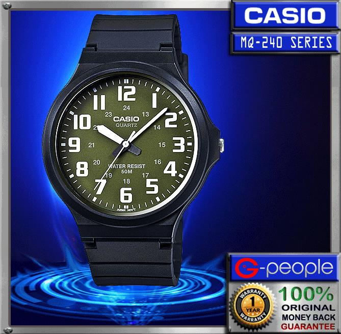 CASIO MW-240-3BV WATCH 100% ORIGINAL