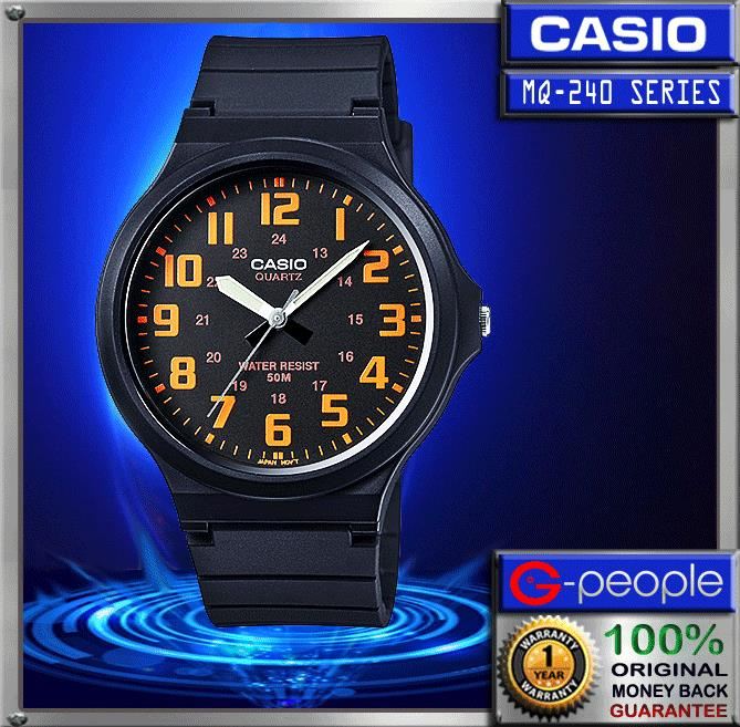 CASIO MW-240-4BV WATCH ☑ORIGINAL☑