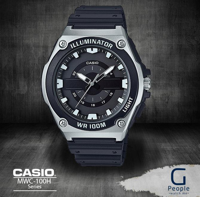 CASIO MWC-100H-1A ANOLAG 100M WR WATCH ☑ORIGINAL☑