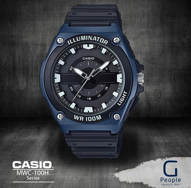 CASIO MWC-100H-2A ANOLAG 100M WR WATCH ☑ORIGINAL☑