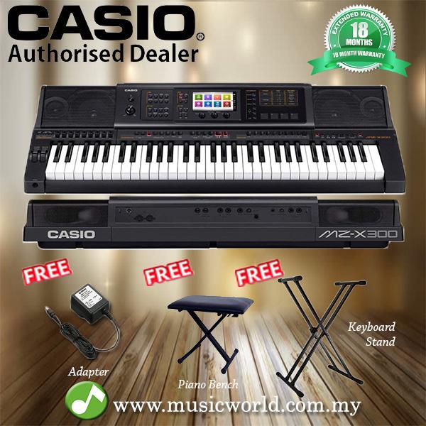 068f6638774d Casio MZ-X300 61 key Arranger Portab (end 4 6 2021 12 00 AM)