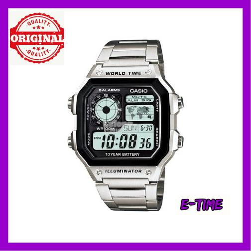 4066dad8e CASIO ORIGINAL DIGITAL STAINLESS STEEL WATCH AE-1200WHD-1. ‹ ›